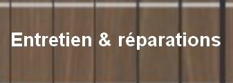 Entretien & réparations