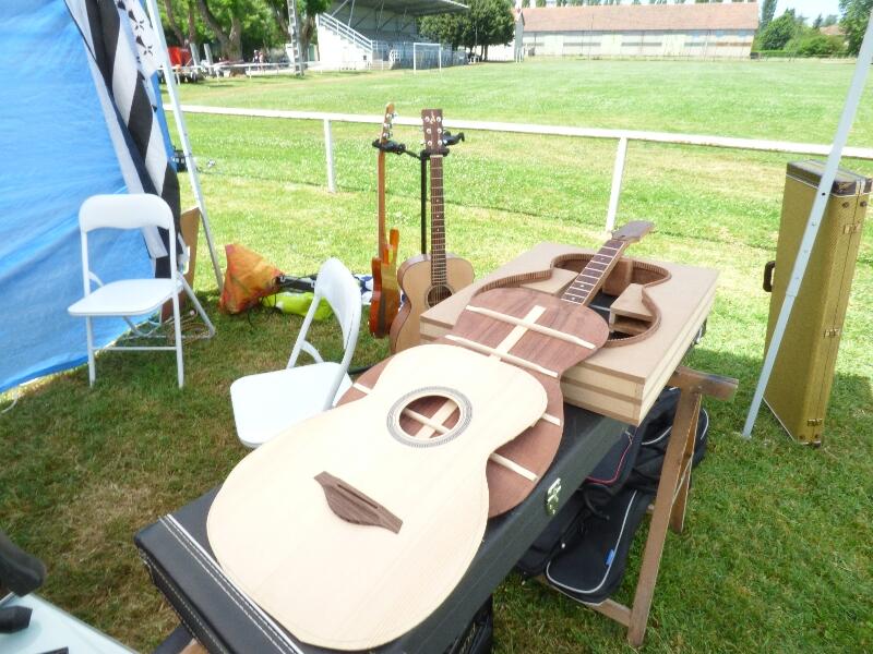 Une guitare en kit elle ne va pas le rester longtemps